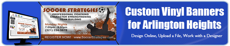 Custom Vinyl Banners for Arlington Heights, IL from Banners.com