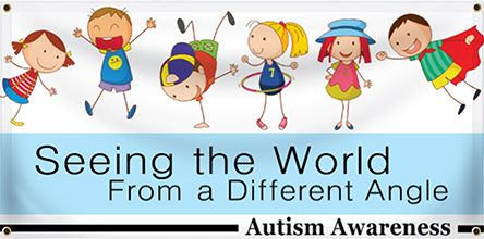 Autism Awareness Event Banners - Custom Vinyl Banners for Any Occasion