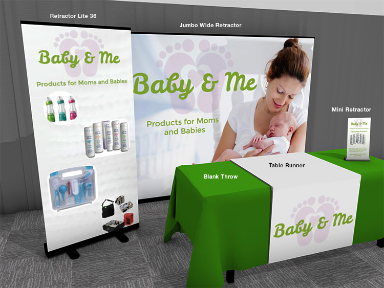 Baby Expo Booth Example | Banners.com