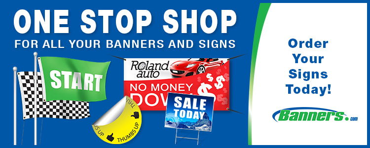 One Stop Shop for Banners & Signs | Banners.com