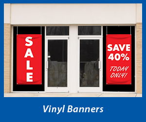 Custom Vinyl Window Banners | Banners.com