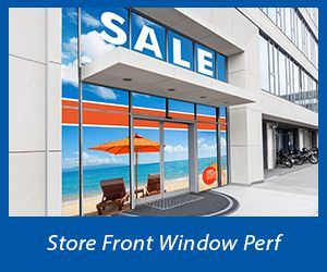 Custom Window Perf Displays from Banners.com