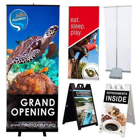 Banner Stands | Banners.com