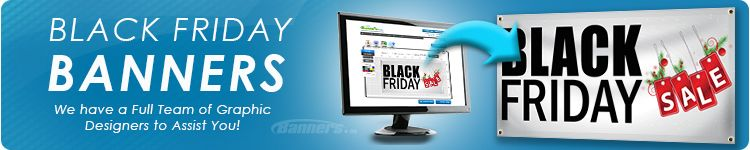 Black Friday Banners from Banners.com