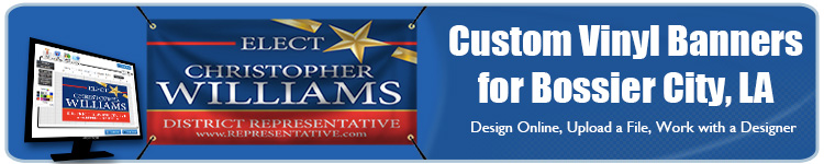 Custom Vinyl Banners for Bossier City, LA from Banners.com