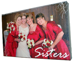Framed Canvas Prints for Wedding Photos | Banners.com