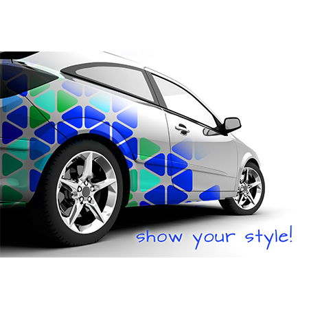 Customize your Car with Vinyl Decals from Banners.com