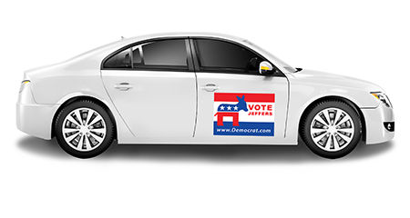 Magnetic Signs for Political Campaigns | Banners.com