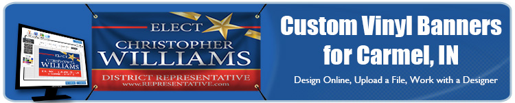 Custom Vinyl Banners for Carmel, IN from Banners.com