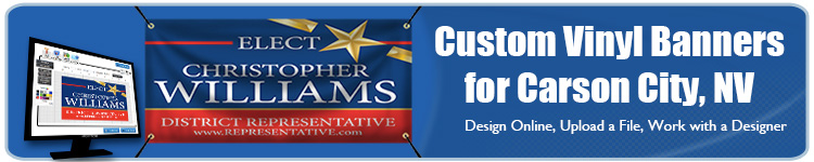 Custom Vinyl Banners for Carson City, NV from Banners.com