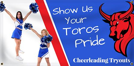 Cheerleading Banners - Custom Banners for Cheer Teams