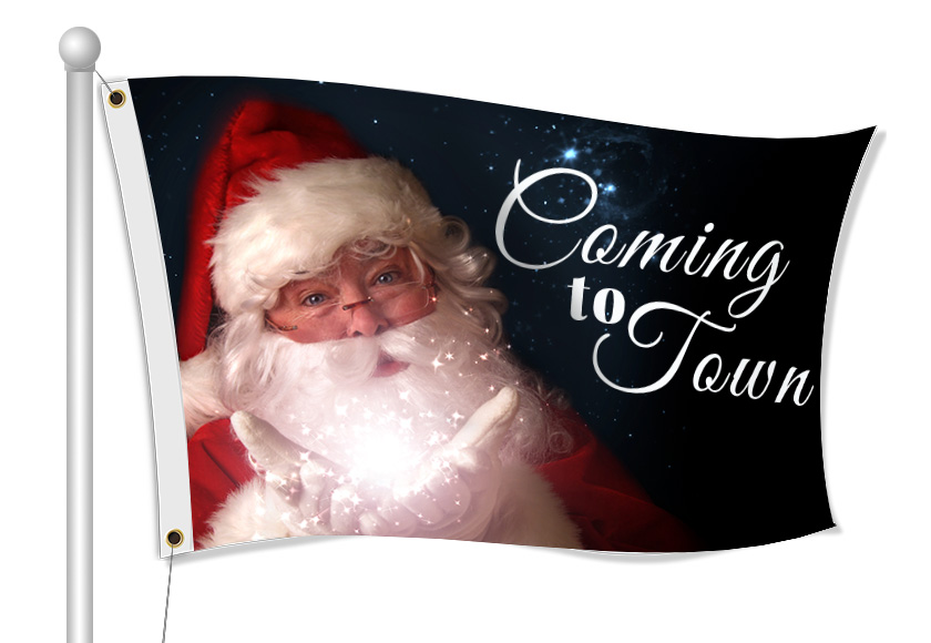 Christmas Flags | Banners.com