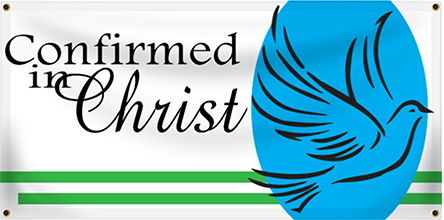 Church Confirmation Banners - Custom Vinyl Banners