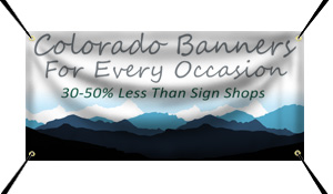 Custom Vinyl Banner Printing in Boulder, CO
