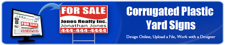 Corrugated Plastic Yard Signs | Banners.com