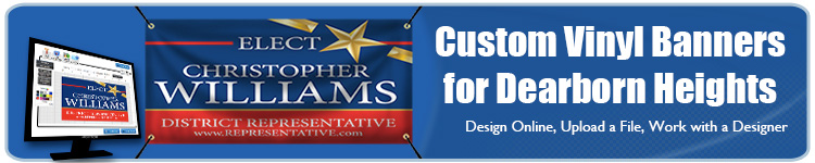 Custom Vinyl Banners for Dearborn Heights, MI from Banners.com