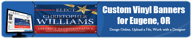 Custom Vinyl Banners for Eugene, OR from Banners.com