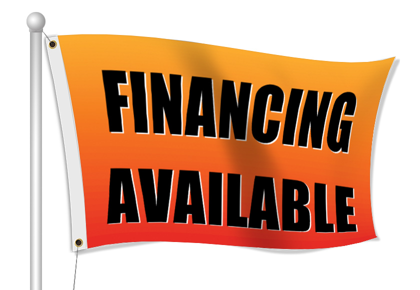 Fabric Flags for Accounting Firms | Banners.com