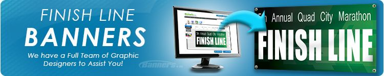 Custom Finish Line Banners | Banners.cm