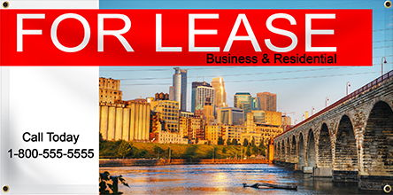 For Lease Banner | Banners.com