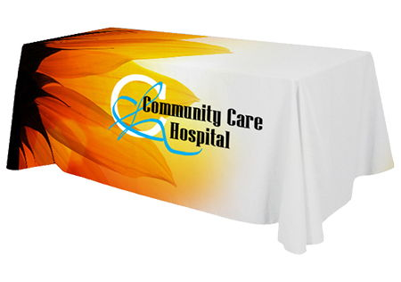 Table Cover Trade Show Example | Banners.com