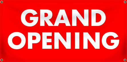 Grand Opening Event Banners from Banners.com