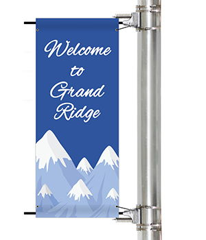 City and Town Pole Banners | Banners.com