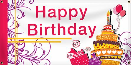 custom birthday banners design your own banners com