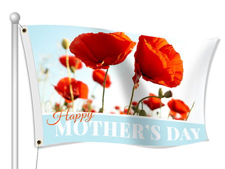 Happy Mother's Day Flags | Banners.com