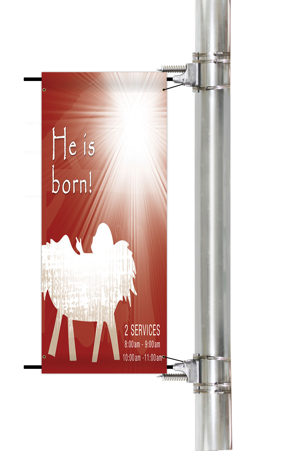 Custom Church Pole Banners | Banners.com