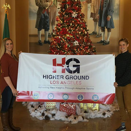Higher Ground LA | Banners in Action
