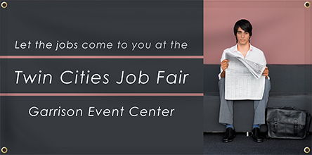 Custom Job Fair Banner | Banners.com