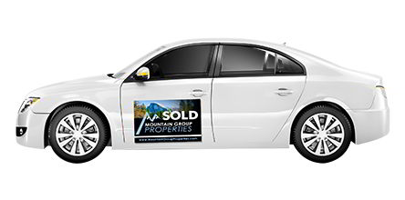 Magnetic Car Sign | Banners.com