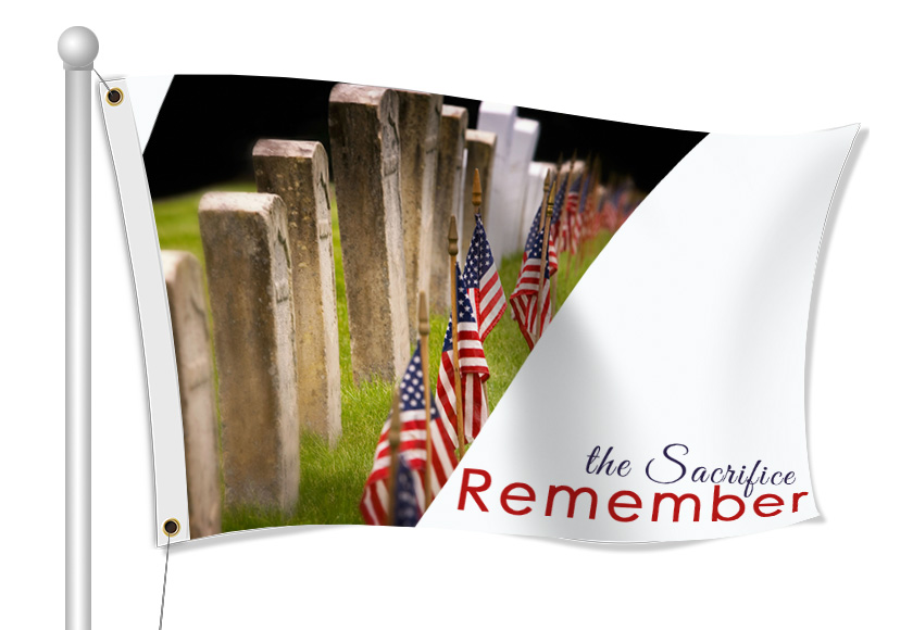 Memorial Day Flags | Banners.com