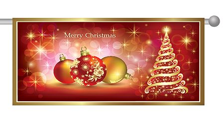 Christmas Banners.Vinyl Banners