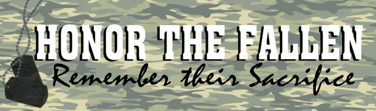 Military Bumper Sticker Idea - Honor the Fallen | Banners.com