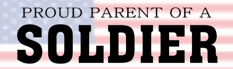 Military Bumper Sticker Idea -  Proud Parent | Banners.com