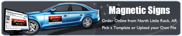 Custom Magnetic Signs for North Little Rock, AR | Banners.com