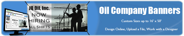 Oil Company Banners | Banners.com