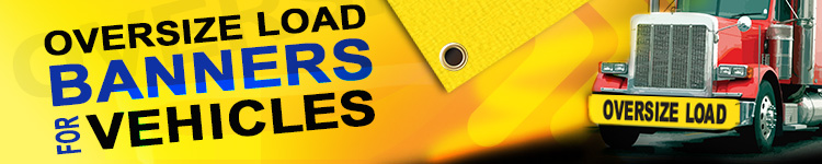 Oversize Load Banners for Vehicles | Banners.com