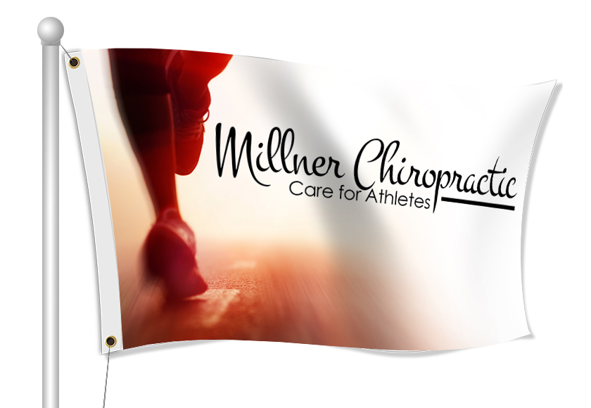 Fabric Flags for Chiropractor | Banners.com