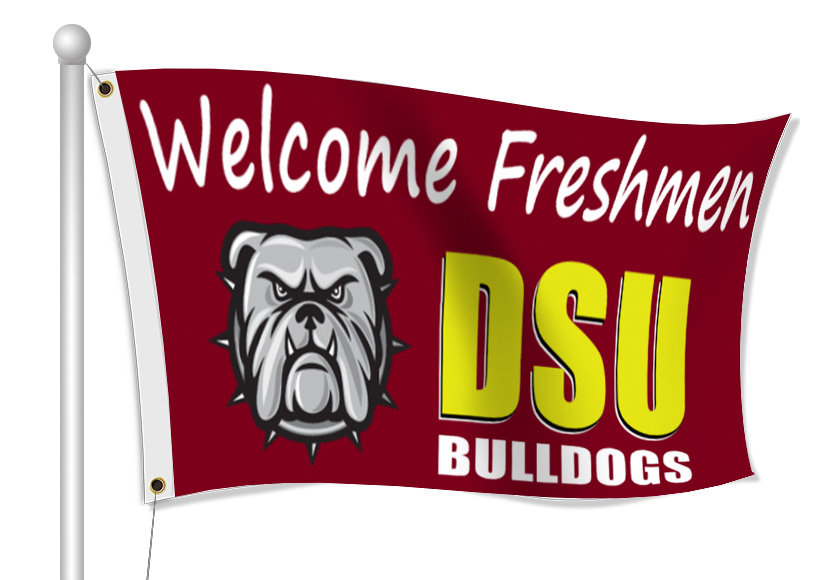 Fabric Flags for College Recruiting | Banners.com