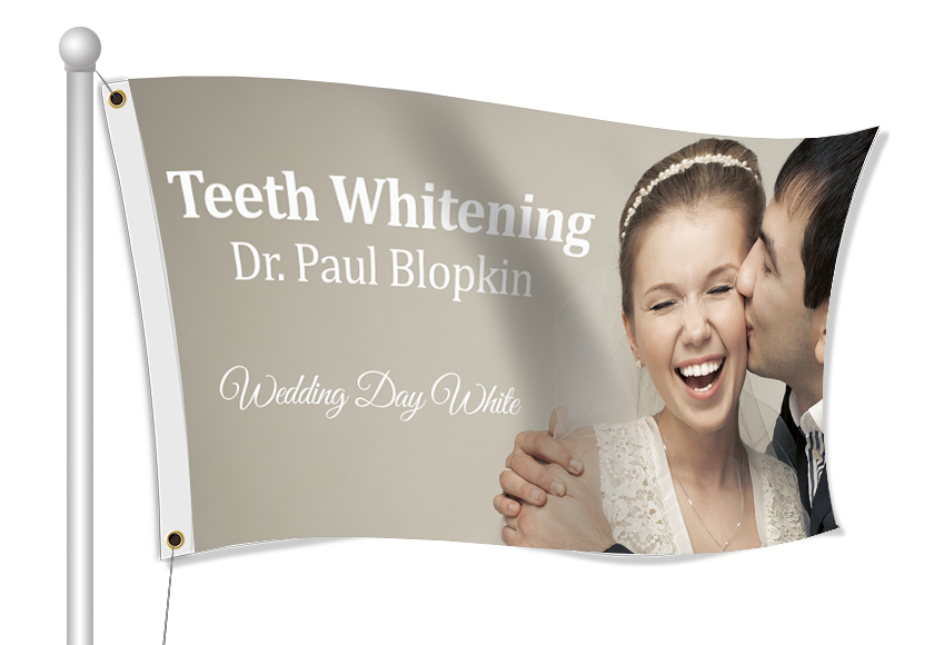 Fabric Flags for Dentists | Banners.com