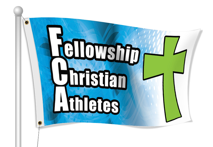 Fabric Flags for FCA | Banners.com