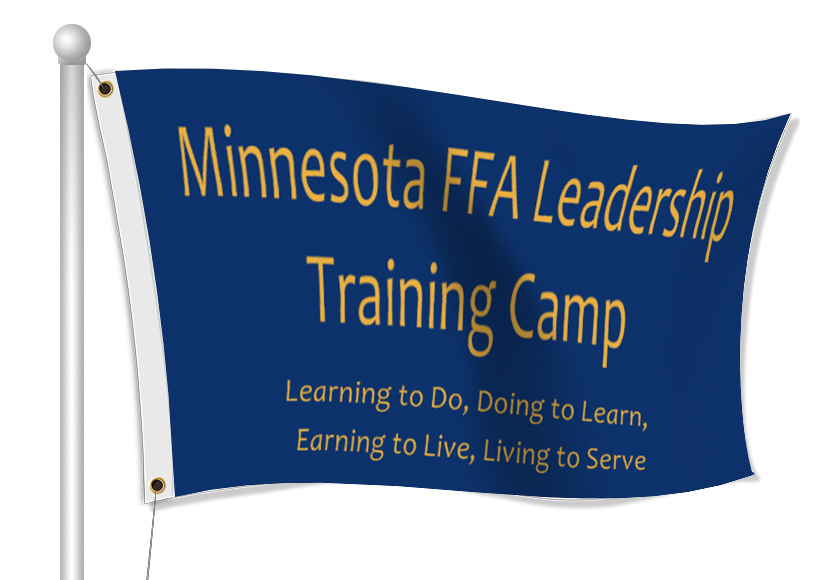 Fabric Flags for FFA | Banners.com
