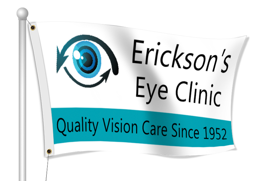 Custom Printed Optometrist Fabric Flag | Banners.com