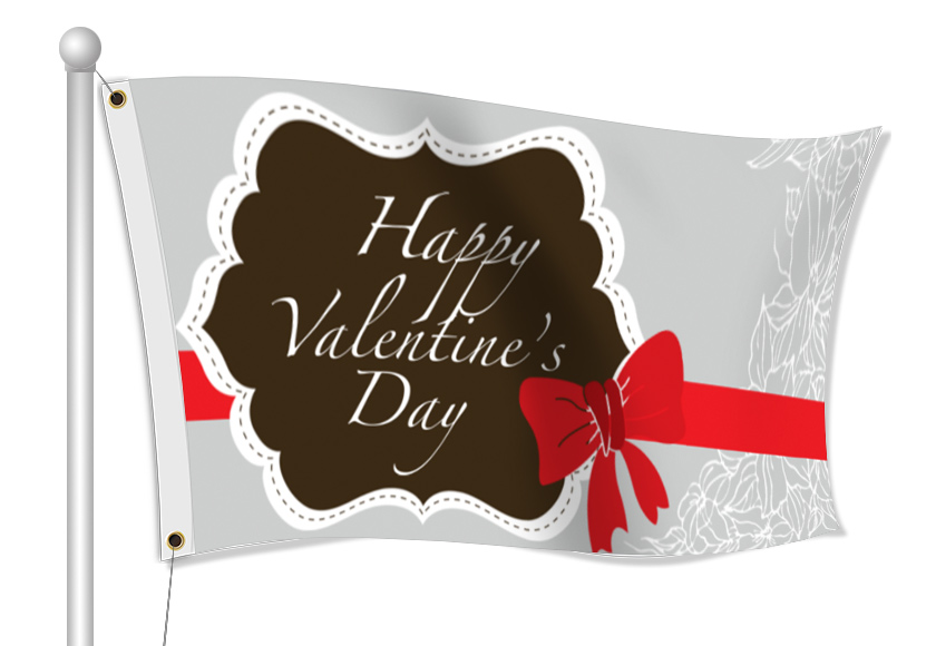Valentine's Day Flags | Banners.com