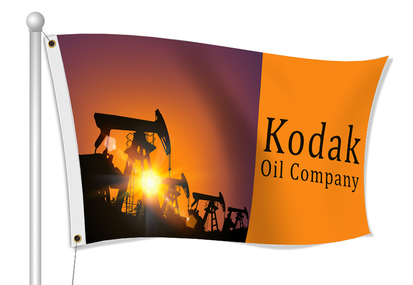 Fabric Flags for Oil Companies | Banners.com