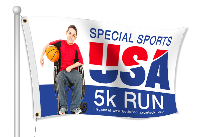 Special Olympics Flags | Banners.com