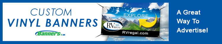 RV Dealership Custom Vinyl Banners | Banners.com